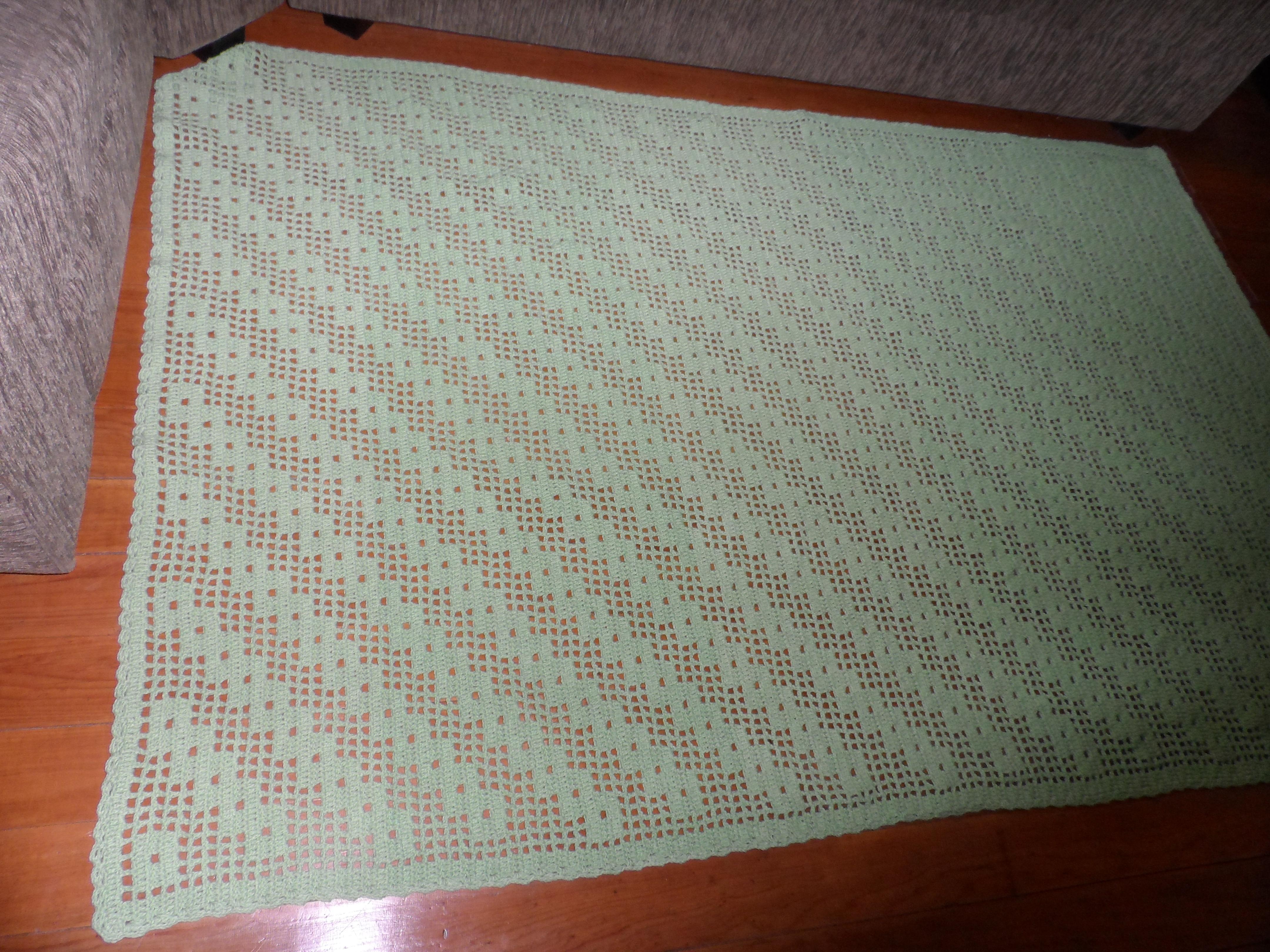 Tapete Croche Em Barbante Artes Da Cata -> Tapetes De Croche Para Sala