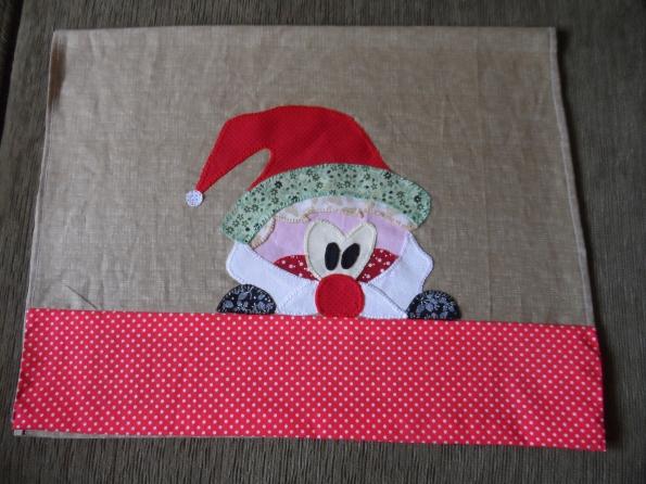 Toalha para cobrir fogão, Natal