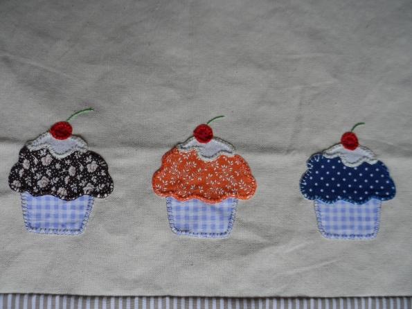 Cupcakes patcholagem