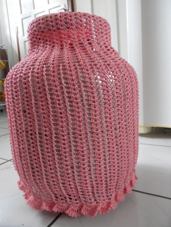 Capa para botijão de gás com fio rayon